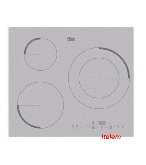 Dessus verre vitroc ramique table de cuisson f6533ios - Table vitroceramique blanche ...