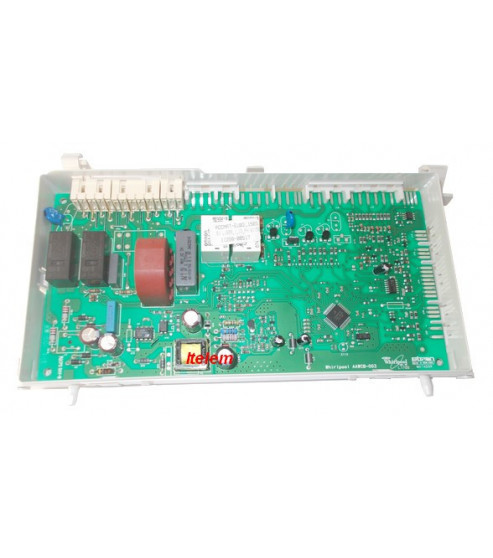 Carte Module Electronique Lave Linge Whirlpool 480111100437