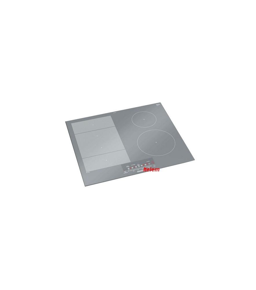 Plat En Verre Sur Plaque Induction dessus verre vitrocéramique plaque à induction siemens